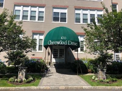 Hastings-On-Hudson Condo/Townhouse For Sale: 100 Clarewood Drive #4E