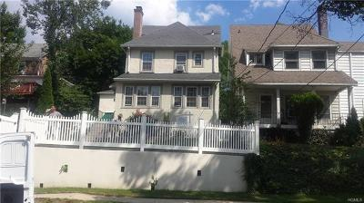 Yonkers Single Family Home For Sale: 39 Manhattan Avenue