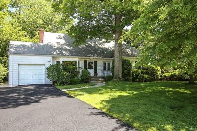 Scarsdale NY Single Family Home For Sale: $629,000