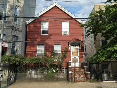 Bronx Single Family Home For Sale: 462 Concord Avenue #1