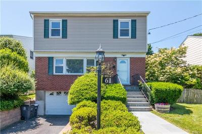 White Plains Single Family Home For Sale: 61 Overlook Road