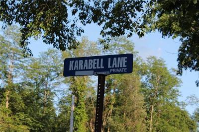 Rhinebeck Residential Lots & Land For Sale: Karabell Lane Lot #3