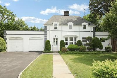 Scarsdale NY Single Family Home For Sale: $765,000