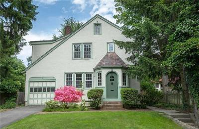 Dobbs Ferry Single Family Home For Sale: 81 Walgrove Avenue