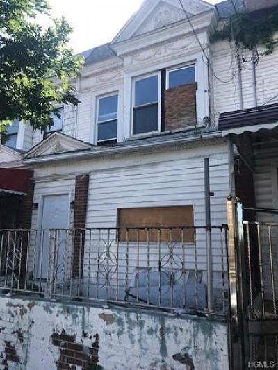 Bronx Multi Family 2-4 For Sale: 4467 Park Avenue