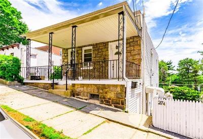 Yonkers Multi Family 2-4 For Sale: 272 Aka 274 Crescent Place