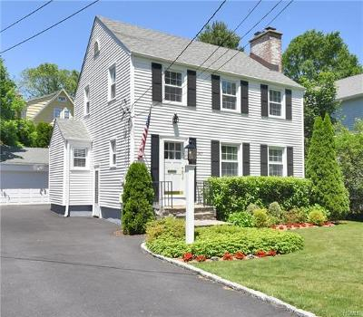 Scarsdale NY Single Family Home For Sale: $850,000