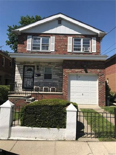 Mount Vernon Multi Family 2-4 For Sale: 36 Duryea Avenue