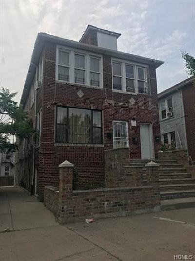 Bronx NY Multi Family 5+ For Sale: $999,000