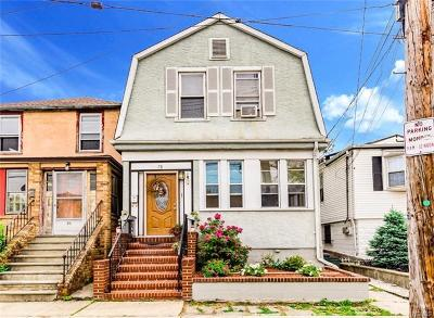 Yonkers Multi Family 2-4 For Sale: 78 King Avenue