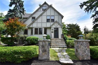 Dobbs Ferry Single Family Home For Sale: 10 Briary Road