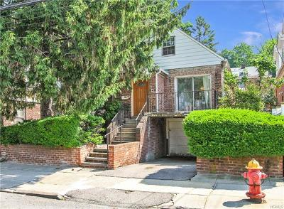 Yonkers Single Family Home For Sale: 140 King Avenue