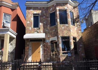 Bronx Multi Family 2-4 For Sale: 3132 Decatur Avenue