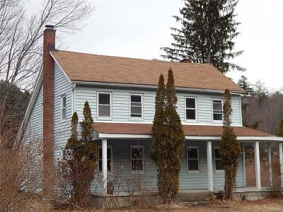 Neversink, Grahamsville, Denning Single Family Home For Sale: 7911 State Route 55