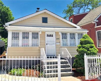 Bronx Single Family Home For Sale: 3408 Ely Avenue