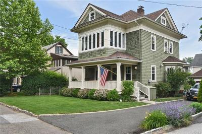 Scarsdale NY Single Family Home For Sale: $899,000
