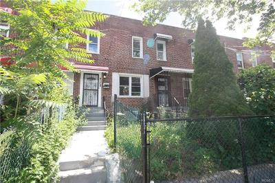 Bronx Single Family Home For Sale: 4128 Murdock Avenue