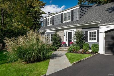 Bronxville Single Family Home For Sale: 37 Ledgewood Road