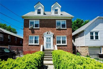 Bronx Single Family Home For Sale: 3097 Chaffee Avenue