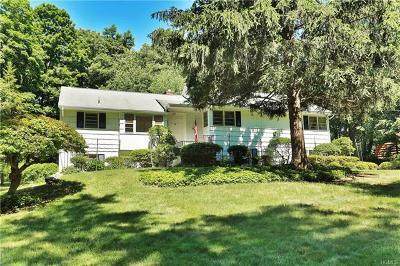 Chappaqua Single Family Home For Sale: 68 Cross Ridge Road