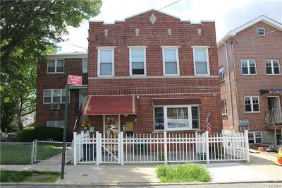 Bronx Multi Family 2-4 For Sale: 1036 Neill Avenue