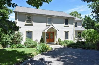 Hastings-On-Hudson Single Family Home For Sale: 136 Overlook Road