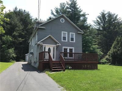 Woodbourne Single Family Home For Sale: 6342 State Route 42