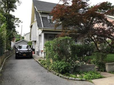 New Rochelle Single Family Home For Sale: 27 Lathers Park