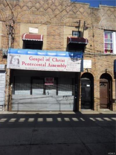 Bronx Commercial For Sale: 3238 White Plains Road