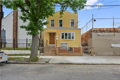 Bronx Multi Family 2-4 For Sale: 356 Underhill Avenue