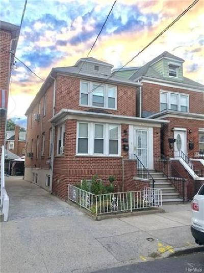 Bronx NY Single Family Home For Sale: $699,000