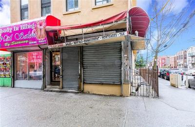 Bronx Commercial For Sale: 3800 White Plains Road