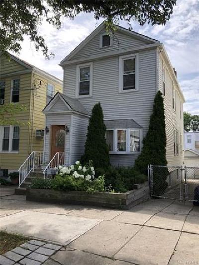 Bronx Single Family Home For Sale: 2890 Harrington Avenue