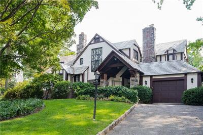 Scarsdale NY Single Family Home For Sale: $1,740,000