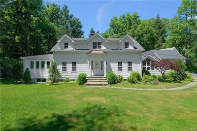 Chappaqua Single Family Home For Sale: 4 Orchard Drive