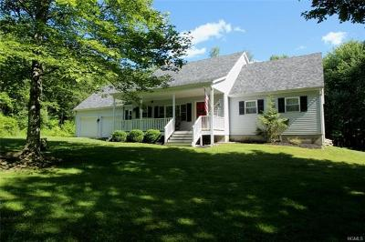 Livingston Manor Single Family Home For Sale: 452 White Roe Lake Road