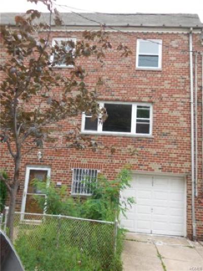 Bronx Single Family Home For Sale: 4104 Monticello Avenue