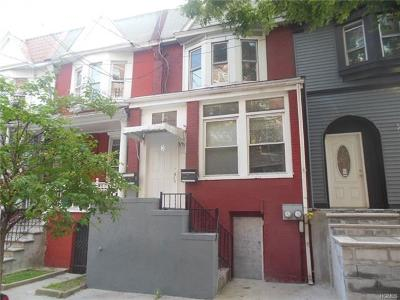 Bronx Multi Family 2-4 For Sale: 3 Perot Street