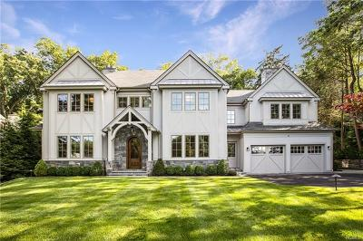 Scarsdale NY Single Family Home For Sale: $3,450,000