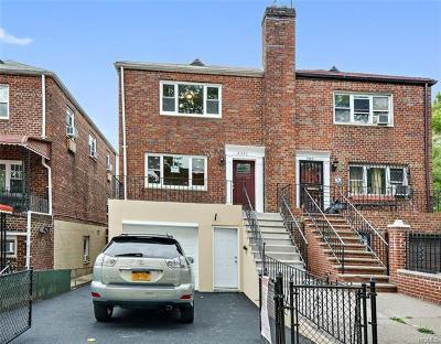 Bronx Single Family Home For Sale: 2351 Wallace Avenue