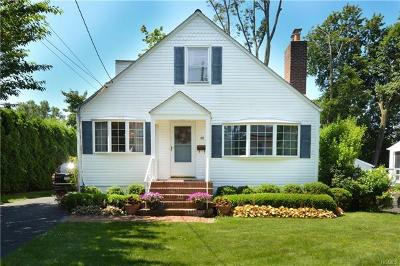 Hartsdale Single Family Home For Sale: 38 Lakeview Avenue