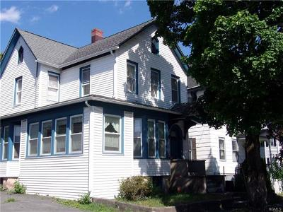 Port Jervis NY Single Family Home Contract: $75,000