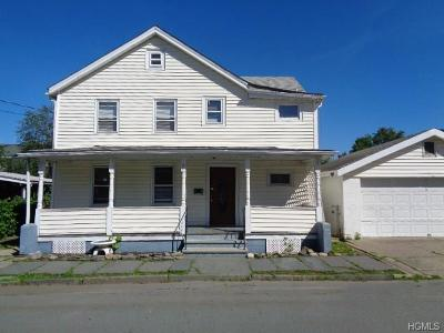 Port Jervis NY Single Family Home Contract: $69,900