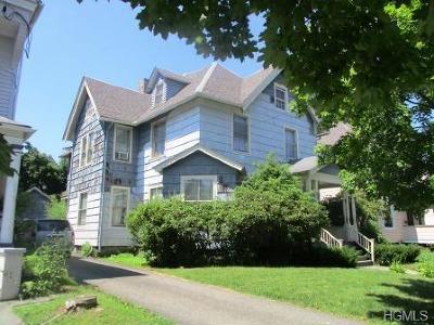 Port Jervis Single Family Home For Sale: 18 Ferguson Avenue