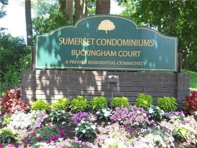 Condo/Townhouse For Sale: 121 Buckingham Court