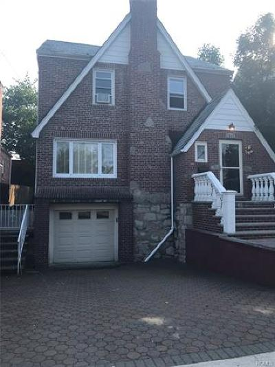 Bronx Single Family Home For Sale: 1847 Yates Avenue