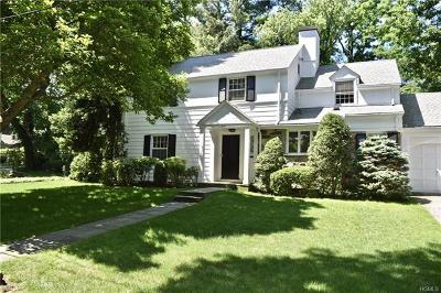 Bronxville Single Family Home For Sale: 44 Ledgewood Road