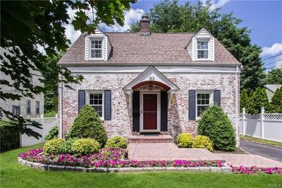 Scarsdale NY Single Family Home For Sale: $897,999