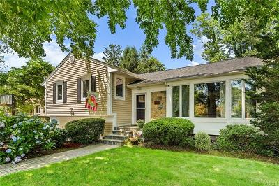 Scarsdale NY Single Family Home For Sale: $730,000