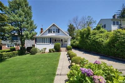 Scarsdale NY Single Family Home For Sale: $629,900